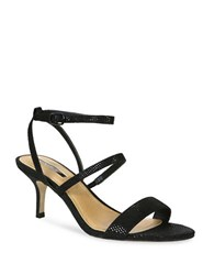 Tahari Marcus Strappy Dress Sandals Black