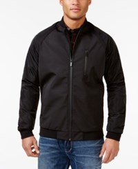 Sean John Textured Bomber Jacket