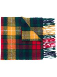 Barbour Classic Highland Check Scarf Multicolour