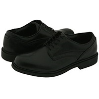 Dunham Burlington Black Men's Plain Toe Shoes
