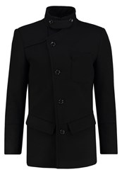 Bertoni Drammen Short Coat Jet Black
