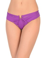 Agent Provocateur Swim Briefs Purple