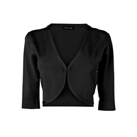 Phase Eight Knitted Shrug Black