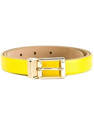 Dolce And Gabbana Classic Belt Yellow And Orange