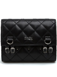 Undercover Quilted Clutch Bag Black