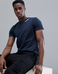 Peak Performance Sportswear T Shirt In Navy 2Ac Salute Blue