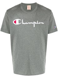 Champion Embroidered Script Logo T Shirt 60