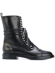 Casadei City Rock Ankle Boots Women Calf Leather Leather Nappa Leather 38 Black
