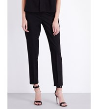 French Connection Chelsea Tailored High Rise Trousers Black