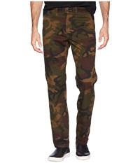 Vans Authentic Stretch Chino Pants Camo Casual Pants Multi