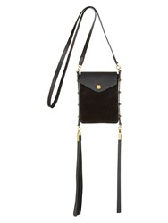 Isabel Marant Teinsy Leather Bag Black