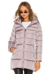 Add Hooded Down Coat Lavender