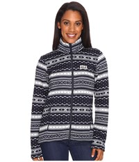 Jack Wolfskin Shackleton Night Blue All Over Women's Clothing
