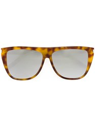 Saint Laurent Sl 1 Sunglasses Yellow Orange