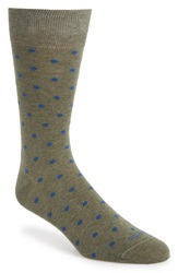 Etiquette Clothiers 'Mini Polka' Socks Vintage Green