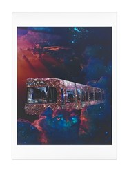 Browns X Sara Shakeel Wait For The Train A4 Print 60