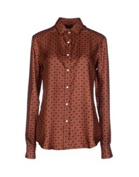 Salvatore Piccolo Shirts Red