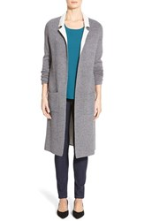 Petite Women's Halogen Closureless Sweater Coat