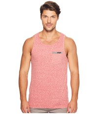 Body Glove Single Fin Tank Top Red Snow Heather Men's Sleeveless Pink
