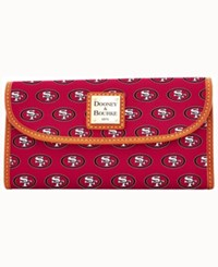 Dooney And Bourke San Francisco 49Ers Clutch Red