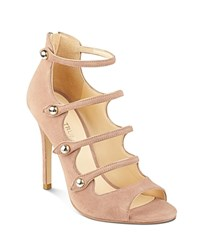 Ivanka Trump Houston Strappy High Heel Sandals Natural
