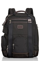 Tumi Men's 'Shaw Deluxe' Water Resistant Ballistic Nylon Backpack Black Hickory