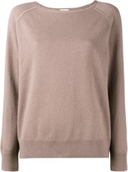 Dries Van Noten Nakira Jumper Nude And Neutrals