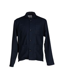 Patrik Ervell Coats And Jackets Jackets Men Dark Blue