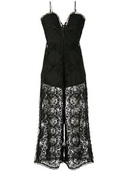Alice Mccall Lace Overlay Jumpsuit 60