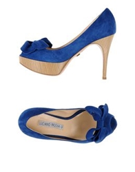 Luciano Padovan Pumps Bright Blue