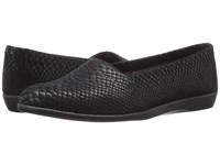 Aerosoles Trend Setter Black Snake Women's Flat Shoes