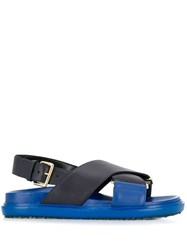 Marni Fussbett Sandals Black