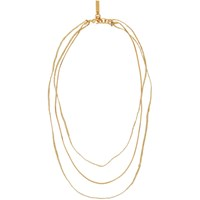 Acne Studios Gold Andre Necklace