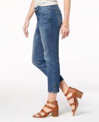 Styleandco. Style Co Ankle Zip Capri Jeans Pacific