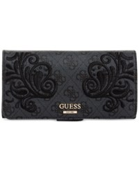 Guess Arianna File Clutch Coal