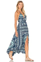 Spell And The Gypsy Collective Pandora Kerchief Dress Teal