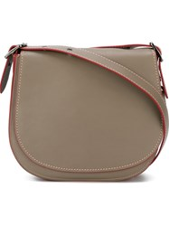 Coach Saddle Bag Grey