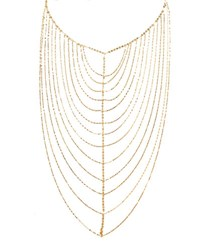 Lana 14K Gold Vanity Chain Necklace