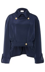 Alexis Mabille Collared Jacket Navy