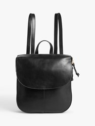 And Or Campeche Leather Backpack Black