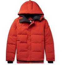 Canada Goose Macmillan Quilted Shell Hooded Down Parka Orange