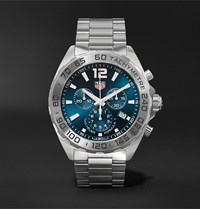 Tag Heuer Formula 1 Chronograph 43Mm Stainless Steel Watch Ref. No. Caz101k.Ba0842 Blue