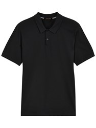 Jaeger Pima Polo Shirt Black