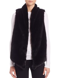 Tart Kai Faux Fur Vest Natural