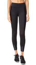 Koral Curve Crop Leggings Black