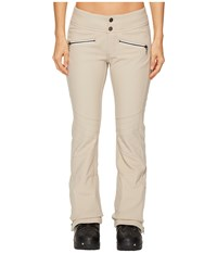Obermeyer Clio Softshell Pants Cashmere Women's Casual Pants Brown