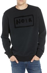 French Connection Black Sweatshirt Stretch Limo Black