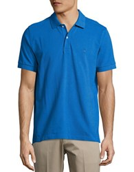 Brooks Brothers Solid Cotton Polo Navy