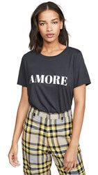 South Parade Amore Tee Smoke Black