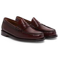 G.H. Bass Weejuns Larson Leather Penny Loafers Burgundy